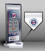 Minnesota Twins My First Game Ticket Display Stand