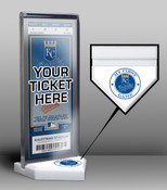 Kansas City Royals My First Game Ticket Display Stand