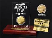 2015 MLB All-Star Game Gold Coin Etched Acrylic
