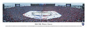 """2014 NHL Winter Classic"" Michigan Stadium Panorama Poster"