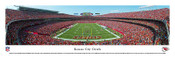 Kansas City Chiefs at Arrowhead Stadium Panoramic Poster