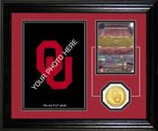 "Oklahoma Sooners ""Fan Memories"" Desktop Photomint"