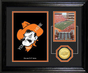 "Oklahoma State Cowboys ""Fan Memories"" Desktop Photomint"