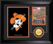 "Oklahoma State Cowboys ""Fan Memories"" Desktop Photomint"