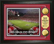 NC State Wolfpack - Carter Finley Stadium Gold Coin Photo Mint