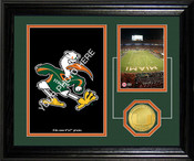 "Miami Hurricanes ""Fan Memories"" Desktop Photomint"