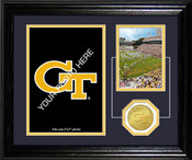 "Georgia Tech Yellow Jackets ""Fan Memories"" Desktop Photomint"