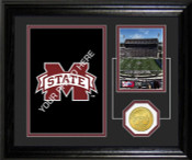 "Mississippi State Bulldogs ""Fan Memories"" Desktop Photomint"