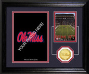 "Ole Miss Rebels ""Fan Memories"" Desktop Photomint"