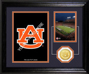 "Auburn Tigers ""Fan Memories"" Desktop Photo Mint"