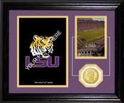 """LSU Tigers  """"Fan Memories"""" Desktop Photo Mint"""