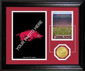 "Arkansas Razorbacks ""Fan Memories"" Desktop Photo Mint"