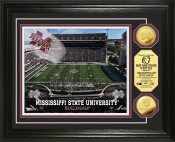 Mississippi State Bulldogs Stadium Gold Coin Photo Mint