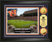 Auburn Tigers - Jordan Hare Stadium Gold Coin Photo Mint