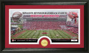"Arkansas Razorbacks ""Razorback Stadium"" Panoramic Photo Mint"