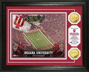 Indiana Hoosiers - Memorial Stadium Gold Coin Photo Mint