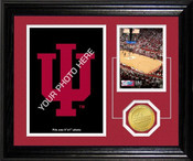 "Indiana Hoosiers ""Court"" Fan Memories Desktop Photo Mint"