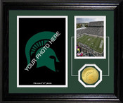 "Michigan State Spartans ""Fan Memories"" Desktop Photomint"