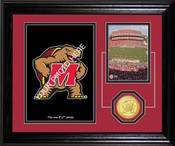 "Maryland Terrapins ""Fan Memories"" Desktop Photo Mint"