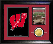 "Wisconsin Badgers ""Fan Memories"" Desktop Photo Mint"