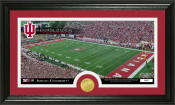 "Indiana Hoosiers ""Memorial Stadium"" Panoramic Photo Mint"