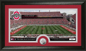 "Ohio State Buckeyes ""Ohio Stadium"" Minted Coin Panoramic Photo M"