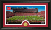"Nebraska Cornhuskers ""Word Art"" Panoramic Photo Mint"