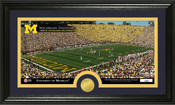 "Michigan Wolverines ""Michigan Stadium"" Panoramic Photo Mint"