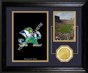 "Notre Dame Fighting Irish ""Fan Memories"" Desktop Photomint"
