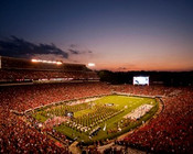 "Georgia Bulldogs ""Sunset"" at Sanford Stadium Poster"