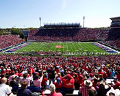 Ole Miss Rebels at Vaught Hemingway Stadium Poster