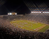 "Florida State Seminoles ""Panoramic"" at Doak Campbell Stadium Poster"
