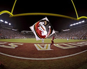 "Florida State Seminoles ""Field Level"" at Doak Campbell Stadium Poster"