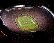 "Florida State Seminoles ""Aerial"" at Doak Campbell Stadium Poster"
