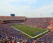 "Florida Gators ""Panoramic"" at Ben Hill Griffin Stadium Poster"