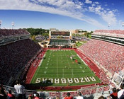 "Arkansas Razorbacks ""EndZone"" at Razorback Stadium Poster"