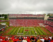 "Arkansas Razorbacks ""50 Yard Line"" at Razorback Stadium Poster"