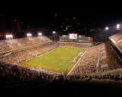 "Georgia Tech Yellow Jackets ""Night Game"" at Bobby Dodd Stadium Poster"