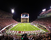 Mississippi State Bulldogs at Davis Wade Stadium Poster