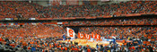 Syracuse Orange at the Carrier Dome Panorama