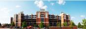 Oklahoma State Cowboys at Boone Pickens Stadium Exterior Panorama