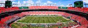 Miami Hurricanes at Sun Life Stadium Panorama 1
