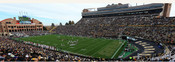 Colorado Buffaloes at Folsom Field Panorama