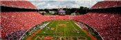 Clemson Tigers at Memorial Stadium Panorama