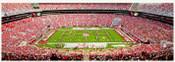 Alabama Crimson Tide 50 Yard Line at Bryant Denny Stadium Panorama