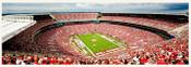 Alabama Crimson Tide Endzone at Bryant Denny Stadium Panorama