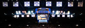 Kansas Jayhawks at Allen Fieldhouse Panorama
