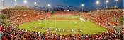 Houston Cougars at Robertson Stadium Panorama