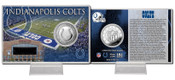 Indianapolis Colts Silver Coin Card