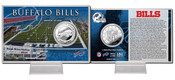 Buffalo Bills Silver Coin Card